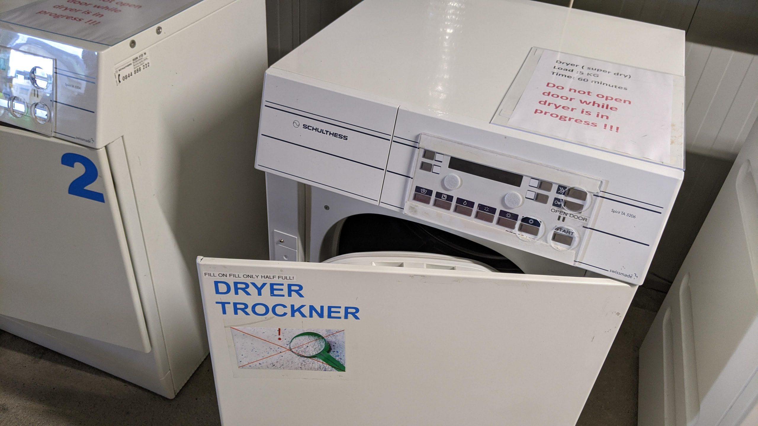 スイスの乾燥機