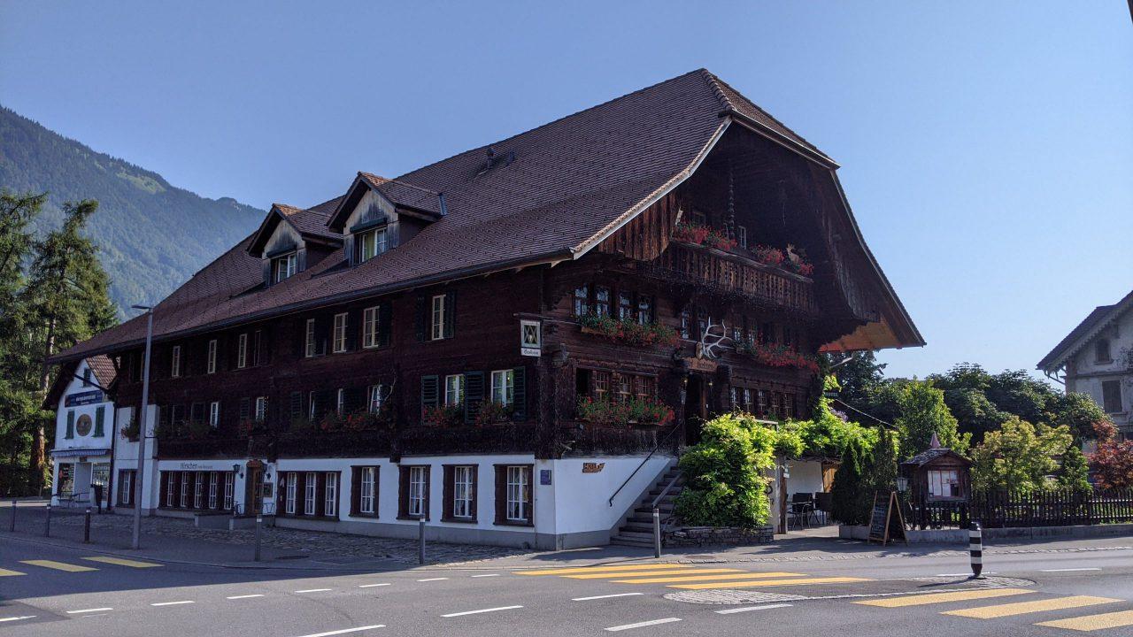 スイスのインターラーケンホテル