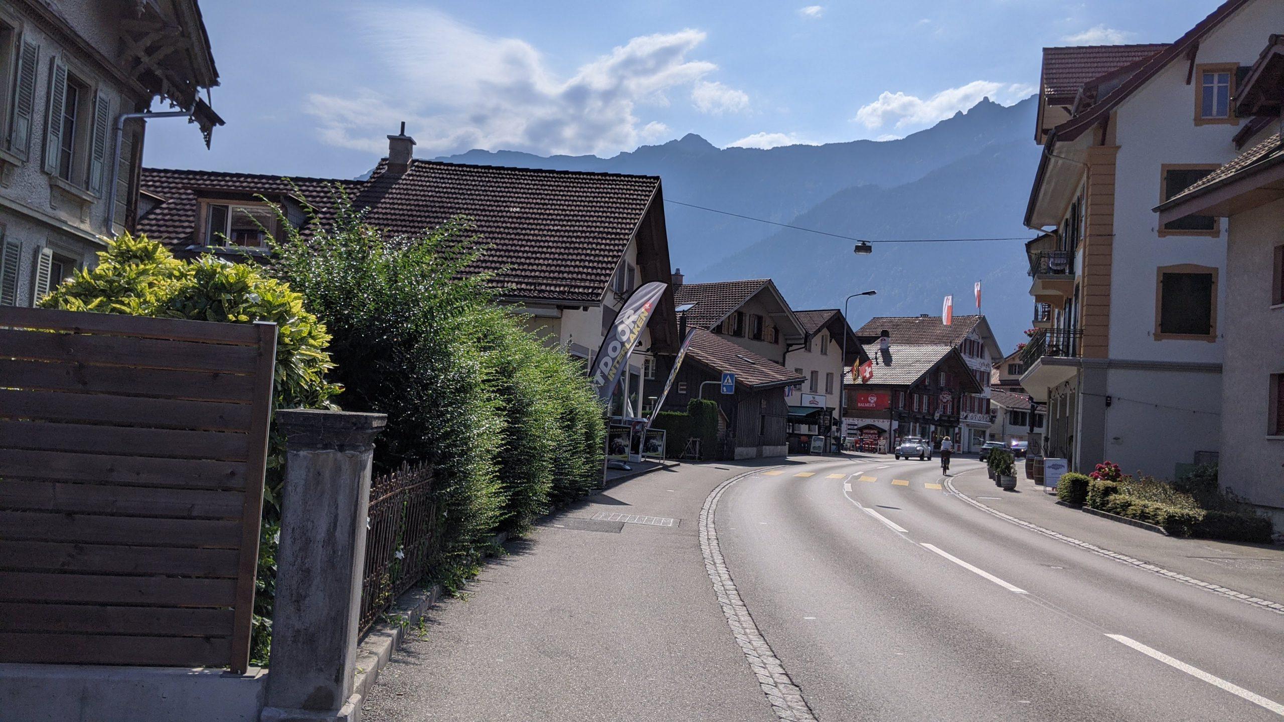 スイスのコインランドリー