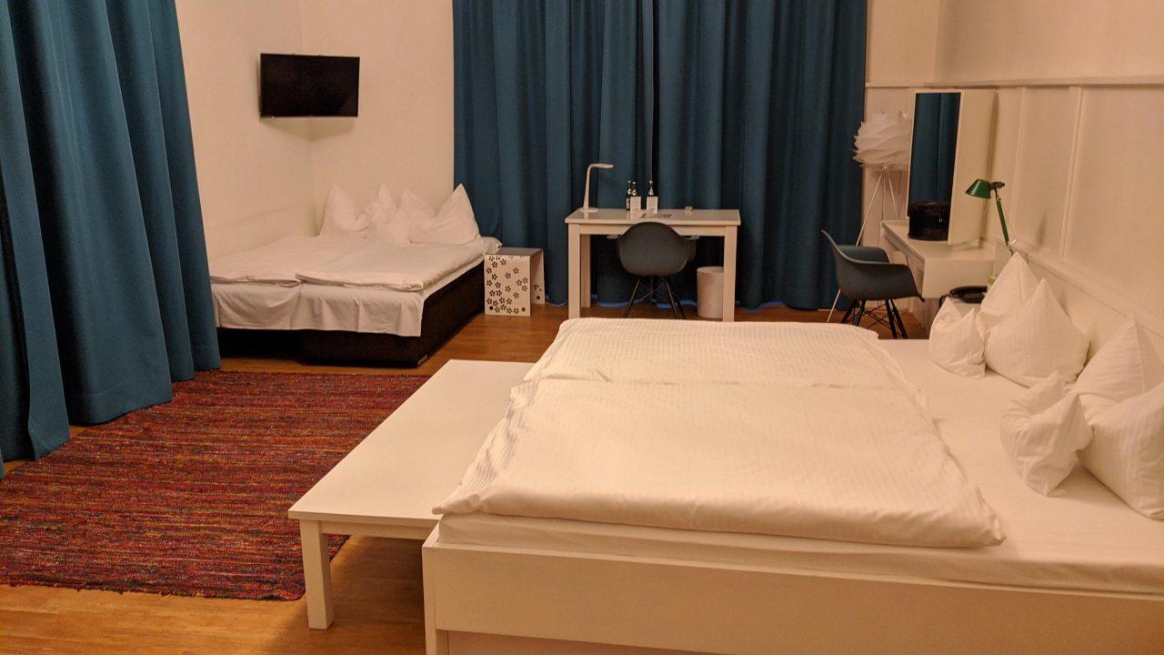 ドイツとスイスのホテル費用