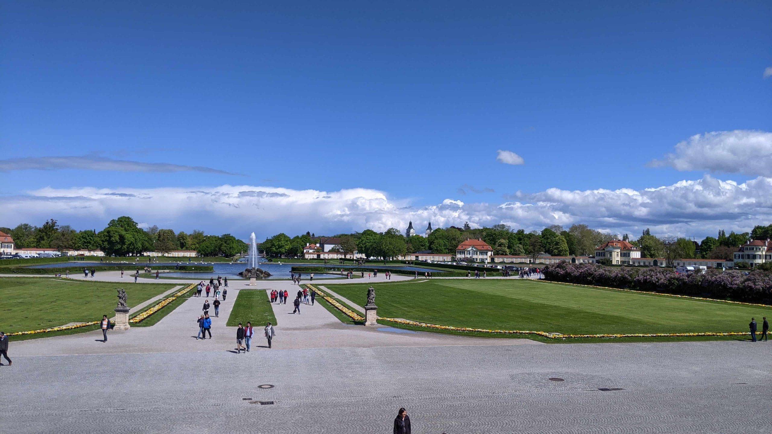 ニンフェンブルク宮殿